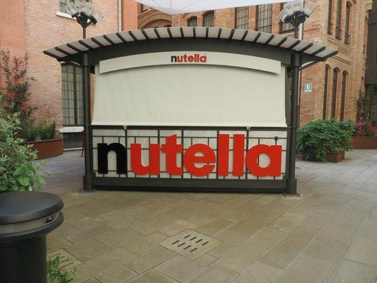 Hilton Molino Stucky Venice Hotel: Nutella station
