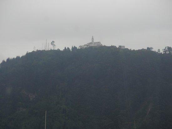 Santuário de Monteserrate visto do Hotel Augusta