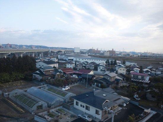 Castle Inn Sendai: 東(港)側眺望
