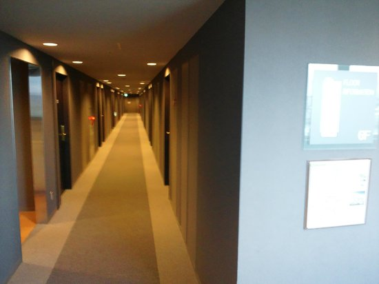 Castle Inn Sendai: 廊下