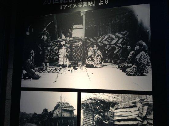 Nibutani Ainu Museum: 展示様子