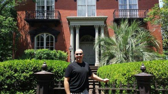 Mercer Williams House Museum : My partner, Rod Kayton.