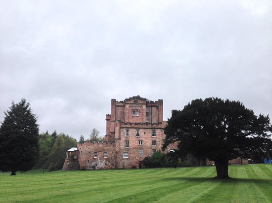 Dalhousie Castle : view of the castle from the grounds