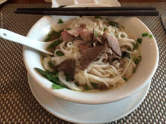 Renaissance Riverside Hotel Saigon: Beef Pho is delicious! Try it!