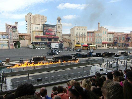 Walt Disney Studios Park: 「カーズ」のスタントショー