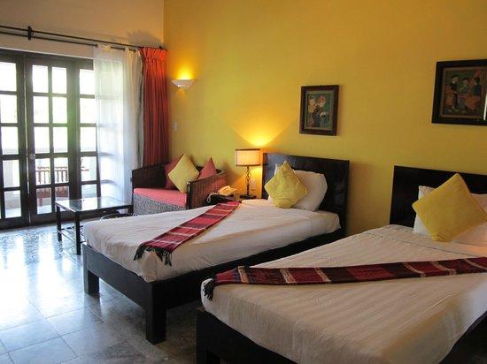 le belhamy resort & spa: Twin room