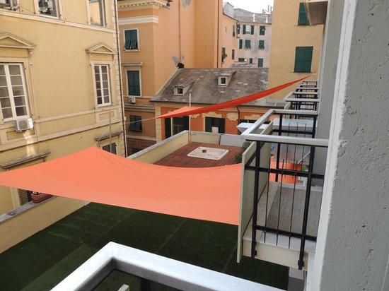 Hotel Nologo: Vista da janela