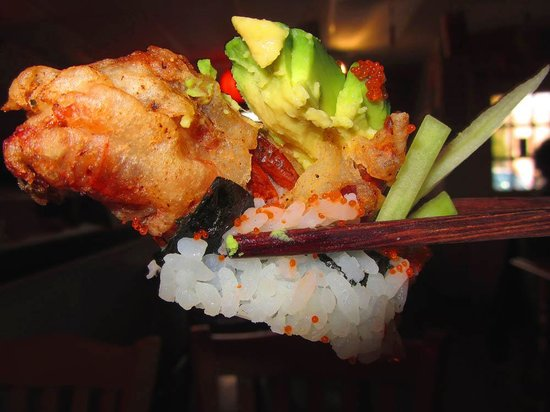Sushi Boat: Piece of Spider Roll
