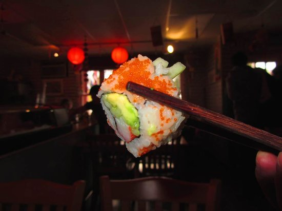 Sushi Boat: Piece of California Roll