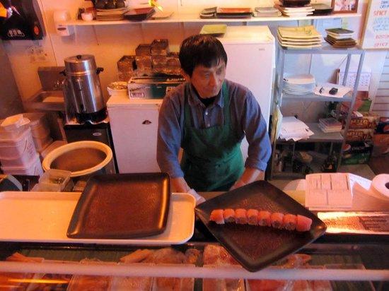 Sushi Boat: Sushi Master Extrodinaire, Ralph