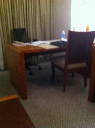 Melia Brasil 21: Mesa de trabalho no quarto 1604