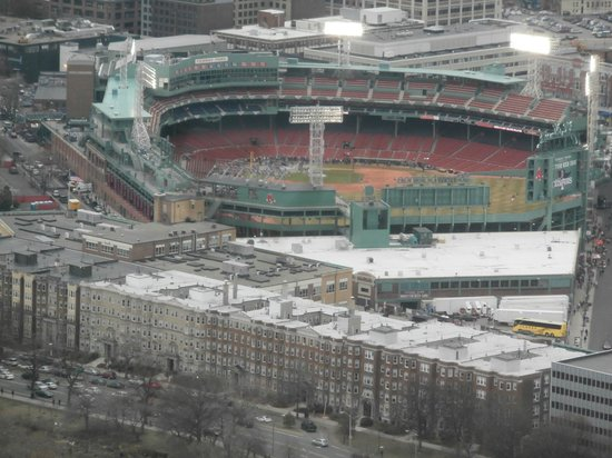 Fenway Park : View from John Hancock Observatory