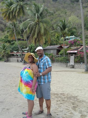 Joe Knows Tours: Relaxing at one of St. Lucia's Nicest Beaches