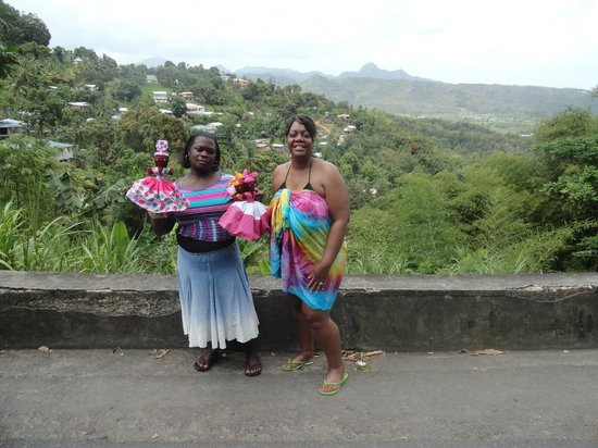 Joe Knows Tours: Supporting the Local Economies in St. Lucia..There actually is some pretty unique things to purc