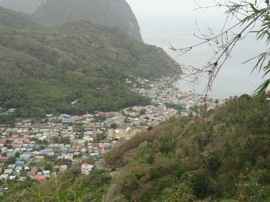 Joe Knows Tours: A Great View from afar of one of St. Lucia's great villages.
