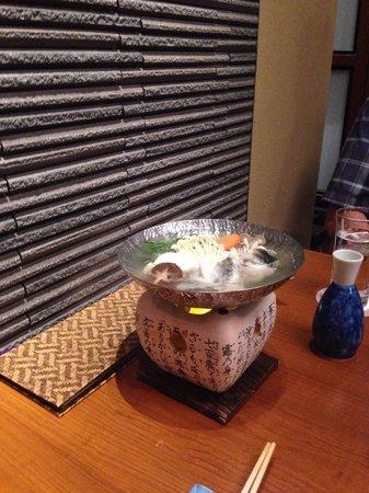 Japanese Cuisine Shimonoseki Shunpanro Tokyo: Blowfish stew