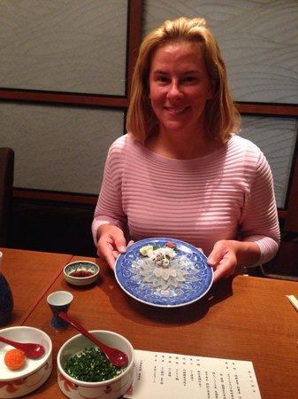 Japanese Cuisine Shimonoseki Shunpanro Tokyo: Fugu