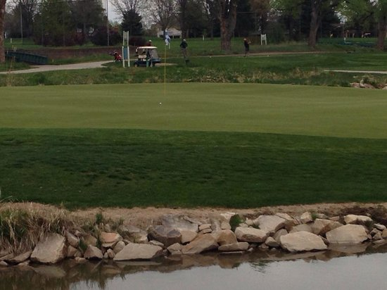 Olde Course at Loveland: # 14 green