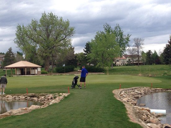 Olde Course at Loveland: # 14 totally surrounded by water