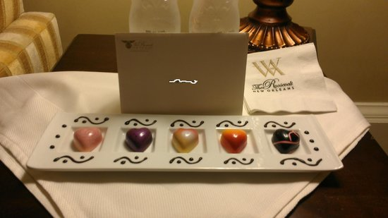 The Roosevelt New Orleans, A Waldorf Astoria Hotel: treat :-)