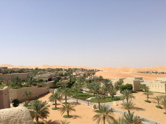 Qasr Al Sarab Desert Resort by Anantara: A Room with a view