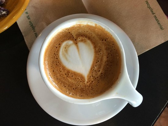 Lemonjello's Coffee : Cappuccino with a heart!