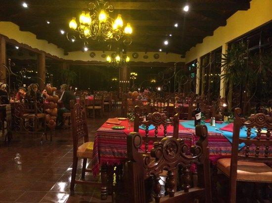 Hotel Atitlan : Ресторан
