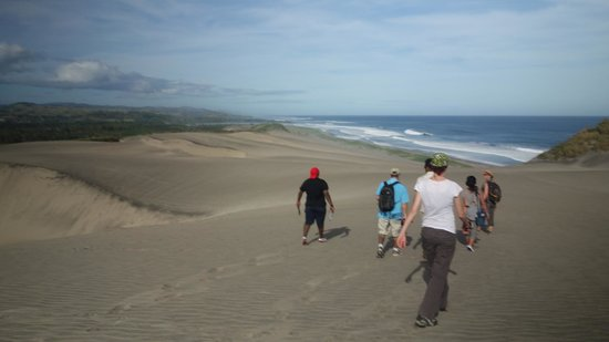 Sigatoka Sand Dunes National Park : The dunes