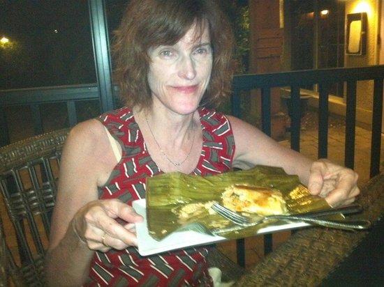 Sweet Melissa's Cafe: Lobster tamale