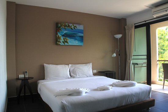 Baan Andaman Sea Surf: Our rooms