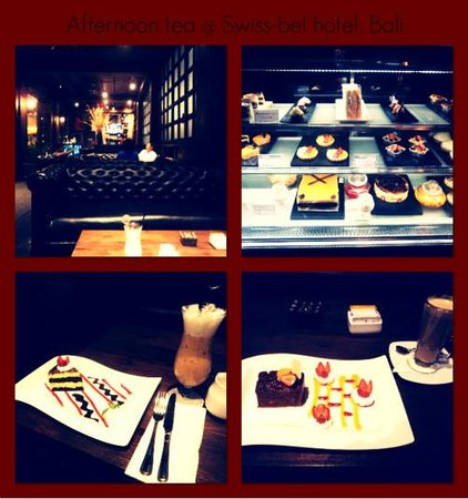 Swiss-Belhotel Rainforest: The delicious cakes & beverages swissbell