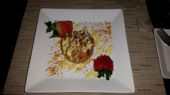 Nishi Restaurant: Bread pudding..
