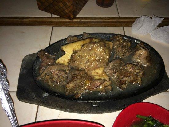 Smoke Restaurant: Sizzling Bulalo