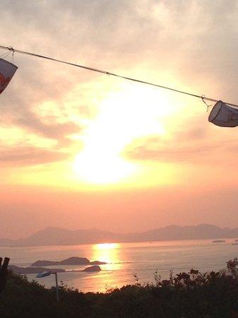 Resort Hotel Olivean Shodoshima: 夕焼け