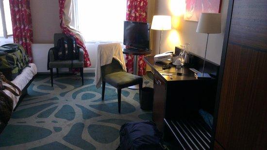 Hotel Klarov Prague : quarto