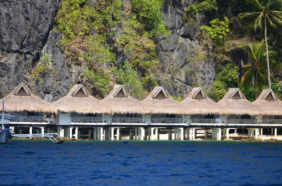 El Nido Resorts Miniloc Island: View of resort upon arrival