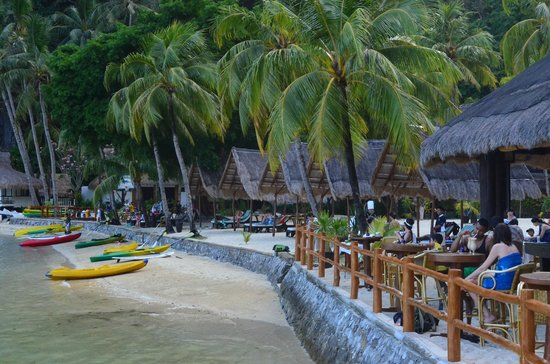 El Nido Resorts Miniloc Island: Resort entrance