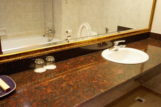 Diamond Hotel: 洗面台