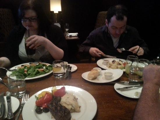 The Keg Steakhouse & Bar : Family at The Keg, Richmond Hill ON for Mothers Day wkend