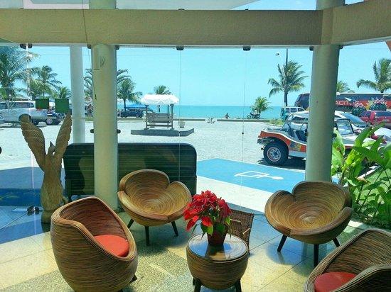 Brisa da Praia Hotel: recepção do Hotel Brisa da Praia