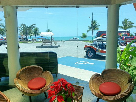 Brisa da Praia Hotel: Recepção do Hotel Brisa da Praia.