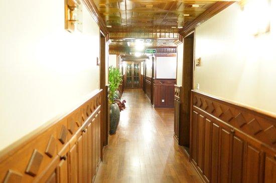 Angkor Sayana Hotel & Spa : 廊下