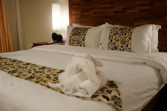 Angkor Sayana Hotel & Spa: ベッド