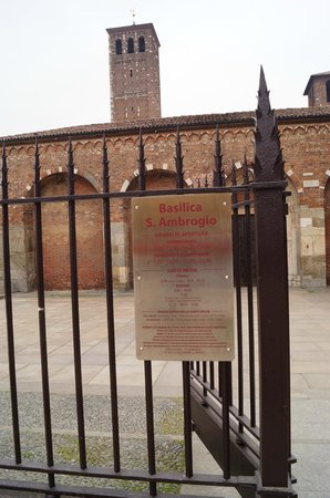 Basilica di Sant'Ambrogio: Opening hours