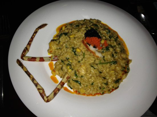 Green Mango : lobster risotto