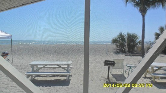 Castaways Cottages of Sanibel: view from our porch