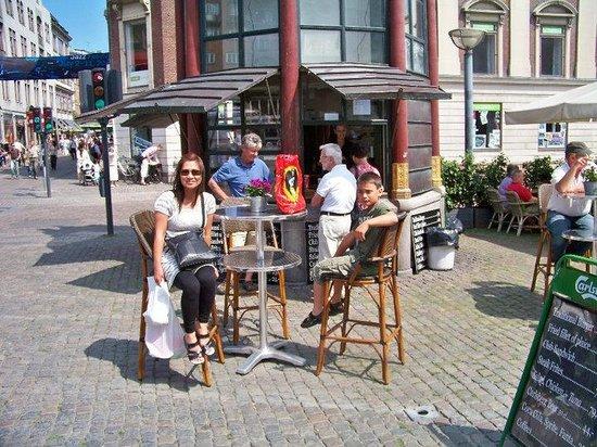 Strøget : Stroget, Copenhagen, Denmark