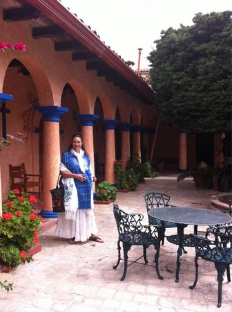 En el hotel Rincon del Arco