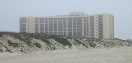 The Dunes Condominiums: The Dunes from the beach.
