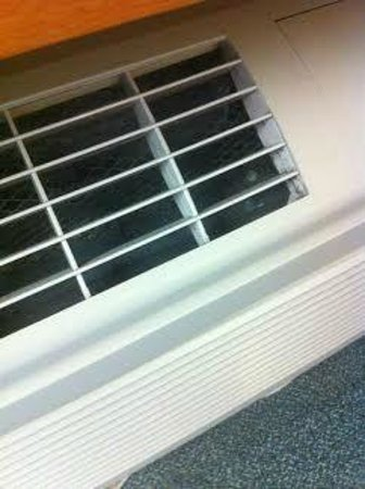 Microtel Inn & Suites by Wyndham Owatonna : Moldy, dirty a/c